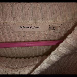 Mustard Seed Sweaters - balloon sleeve sweater, cream sweater, boutique